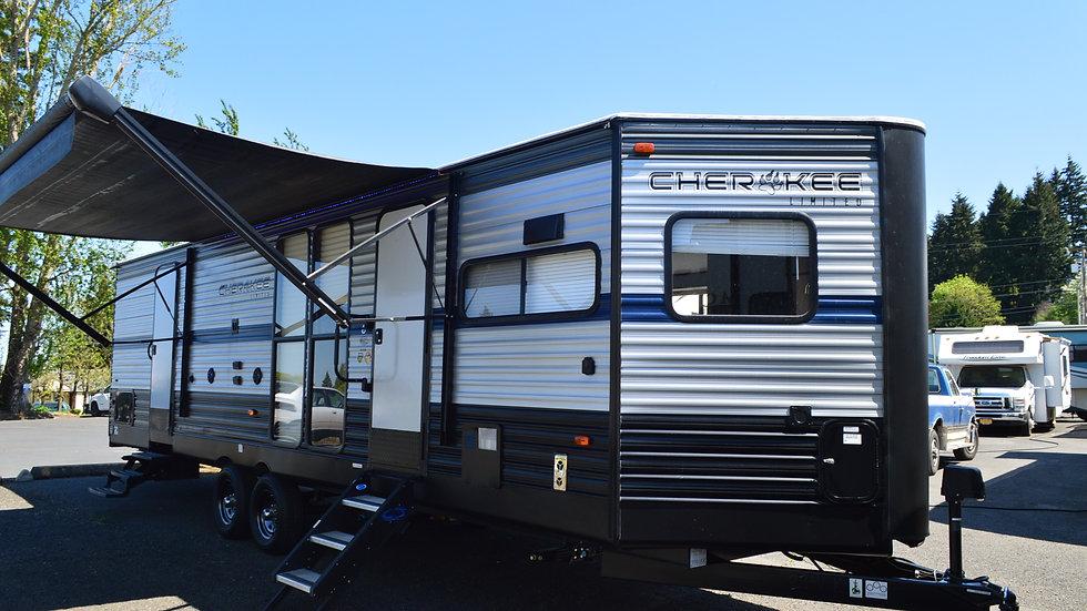2020 Cherokee 274VFK 33ft. Travel Trailer  1 Slide