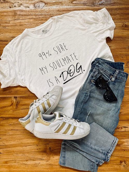 99% Sure My Soulmate T-Shirt