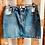 Thumbnail: Denim Skirts -BLUE