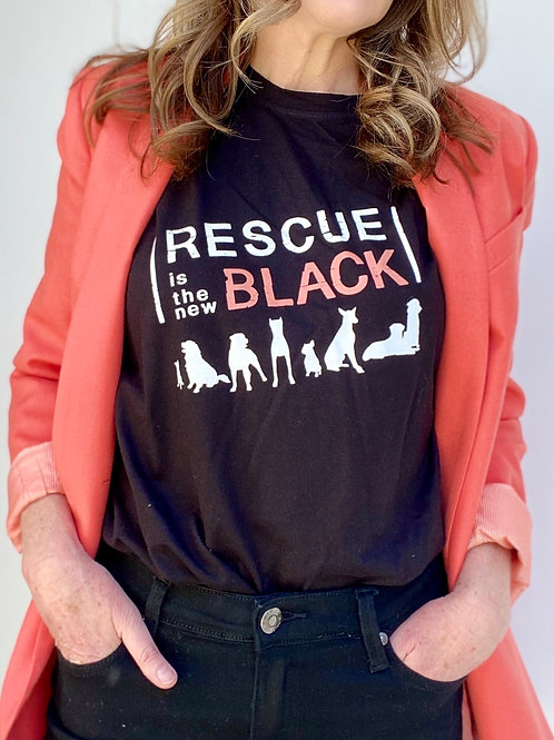Rescue Is The New Black T-Shirt