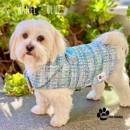 CHANEL Inspired Dog Coats