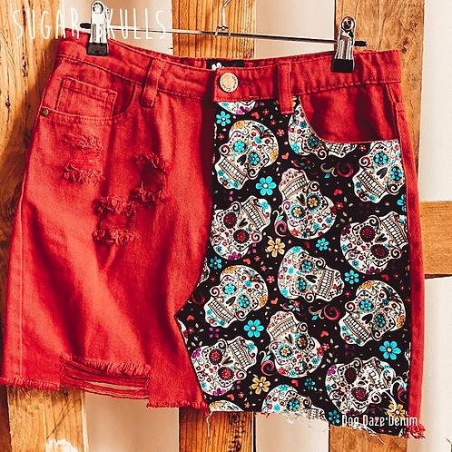 Denim Skirts - COLOURED