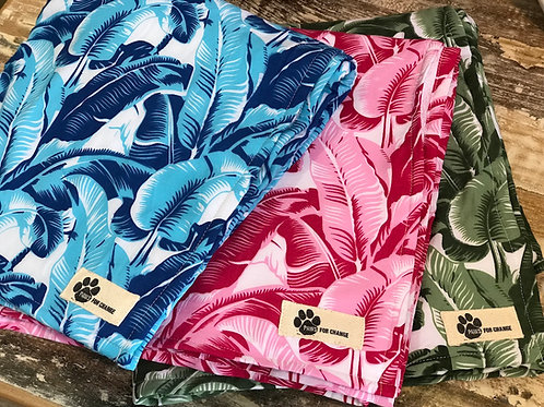 Tropical Print Towels