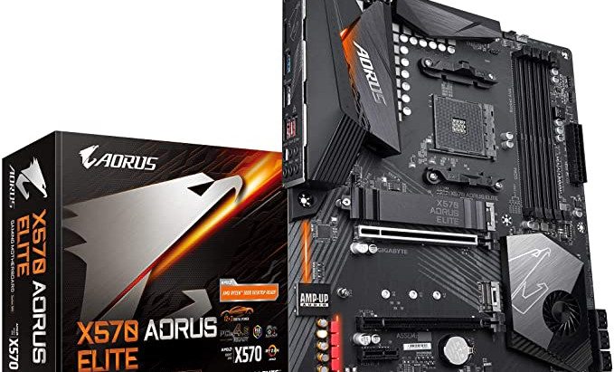 Aorus Elite X570 Ryzen 7 3800X  upgrade Elexir