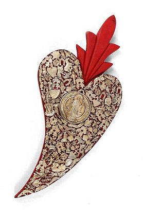 Mintsita Charhapiti. Gold & Red