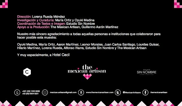 The Mexican Artisan Exhibition