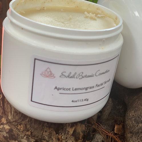 Apricot Lemongrass Facial Scrub