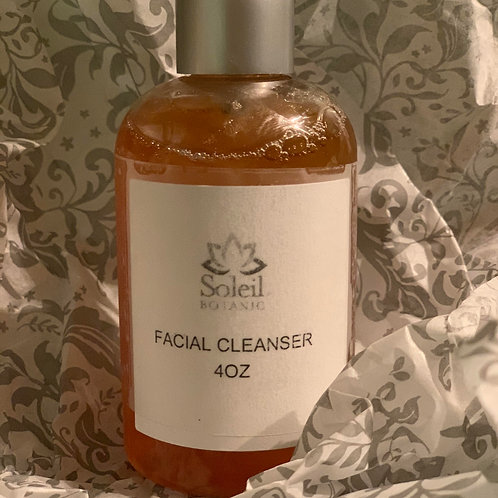 Lemongrass Facial Cleanser 8oz