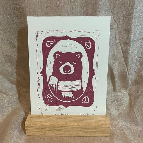 original print: brrrr bear