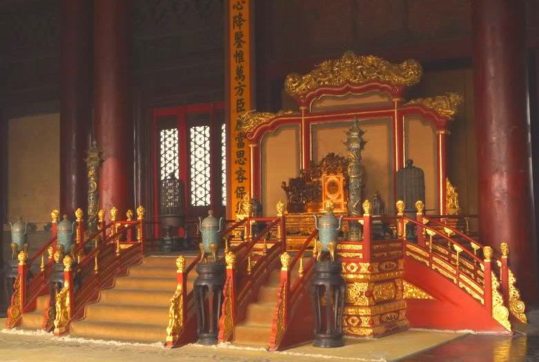 Throne Room, Forbidden City