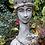 Pflanzkopf Königin; Steinguss; Fiona Scott; Vidroflor; FS2101; bepflanzbare Steingussfigur; Kunst; Gartenkunst; Galarosa