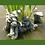 Elfe; Holly; mit Frosch; Max; Vidroflor; Galarosa; Steinguss; 1221; im Wasser; liegend; Gartenfigur; Devonshire; Fiona Scott