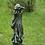 Vidroflor; Steinguss; Waldbewohnerin; Waldläuferin; Hilde; 114512; Waldfigur; Aurelia; Waldelfe; Gartenfigur
