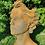 Gesicht Frau; Steinguss; Edition Oxid; mittel; Vidroflor; 116551EO; Rost; Kopf