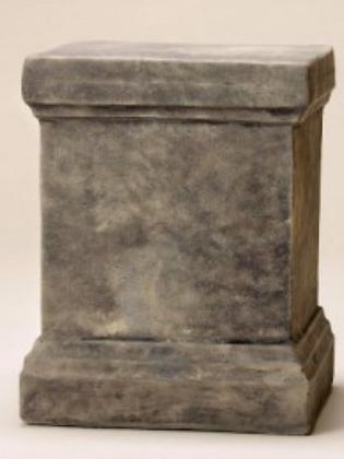 Säule; Marena; Zauberblume; Steinguss; Betonguss; 24-90003; Gartenfiguren; Podest; Sockel; für Blütentöpfe; Galarosa