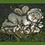 Sprössling Schmetterling; auf Blüte; Vidroflor; Steinguss; 114431; zum Stellen; zum Stecken auf Metallstab; Deko; Gartenfigur