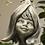 Blumenkind Magnolie; für Stab zum Stecken; Zauberblume; Blütenkopf; Gartenfigur; Steinfigur; Schönes für den Garten