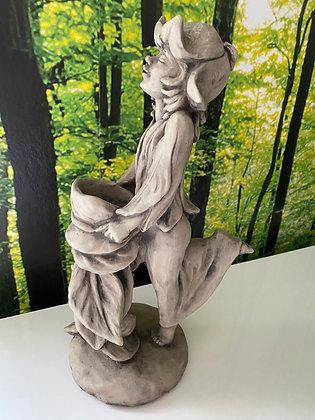Vasenfigur; Galarosa; Zauberblume; Schneeglöckchen; Elisa; Betonguss; Tischvase; Tischdeko; Schaugarten; Teelicht
