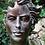 Vidroflor; Gesicht Frau; Steinguss; mittel; Bronze Effekt; 116551BR; Kopf; modern