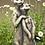 Zauberblume; Erdmännchenpaar; Biker; frostfester Betonguss; Steinguss; Gartendeko; Beetdekoration; Topfdeko; 24-50453; Paar