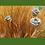 Steinguss; Rose; Teelicht; Metallstab; Vidroflor; auf Stab; zum Stecken; f. Teelicht; Tischdeko; Teelichthalter; Teelichtdeko