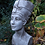 Nofretete; Planzkopf; Pflanzgefäß; Steinguss; Fiona Scott; Vidroflor; Antik; grau; Gartenfigur; Galarosa; FS2102