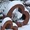 Herz groß und klein; Rostdeko; Vidroflor; 65003; 65004; Winterdeko; Garten; Metallherz aus Stahlblech