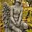 Engeljunge Barbiel; nachdenklich; Vidroflor; Antik; Steinguss; 8084; Säule; betend; Babiel; betender Engel; Raphael