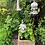 Thumbnail: 3 x Blütentänzerinnen: Fingerhut, Rose, Sonnenhut - Betonguss, Gartenfiguren