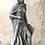 Jeanne d Arc; Steinguss; Vidroflor; 114525; Farbe Antik; Galarosa; Gartenfigur; Skulptur; Figur mit Schwert; frostfest