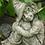 Hazel; kleine Hexe; Fiona Scott; Vidroflor; Steinguss; Hexchen; Antik; Gartenfigur; Gartendeko; Skulptur; Pheebert's
