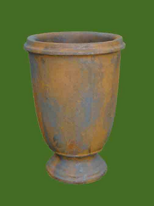 Gefäß Tumba - Farbe Edition Oxid
