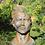 Gesicht Mann; Steinguss; mittel; Rosteffekt; Vidroflor; 116550R; Kopf; Haare