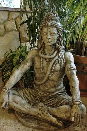 Figur; Shiva; Steinguss; Antik; 114370; Vidroflor; Kultur; Skulptur