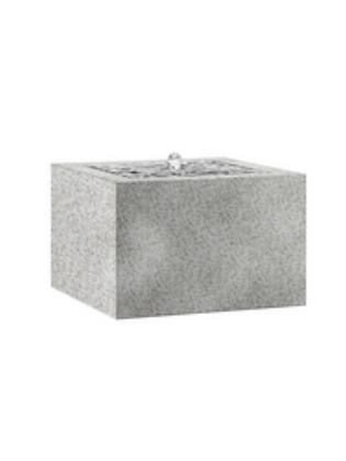 Esteras; Komplett-Brunnen; Fountainslite; Toa 57 Granite Grey; granitgrau; 800253; LED; Modern Art; Galarosa; Balkonbrunnen