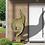 Gartenkunst; Valentino; Vidroflor; 210100; antik grün; Fiona Scott; Gartenfigur; Skulptur; modern; Steinguss; Galarosa