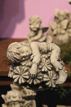 Sprössling Brennende Liebe; Vidroflor; Steinguss; frostfest; 114445; zum Stellen; zum Stecken auf Metallstab; Gartenfigur