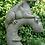 Drache; Yolande; Vidroflor; Pheebert's; Fiona Scott; PGS005; Steinguss; grau; Beschützer des Eingangs; Gartenfigur
