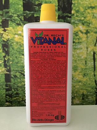 Dr. Rech's; Vitanal; Professional; Rosen; 1 Liter; 1 l; Rosendünger; Stärkung der Rosen; Vitanal Rot