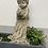 Dekoengel; Engel stehend; Talia; Vogel; Steinguss; Vidroflor; 114110; Galarosa; Schaugarten; Topfdeko