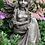 Fee Bluebell; sitzend; Pheebert's; Fiona Scott; Steinguss; Vidroflor; Blumenfee; Gartenfee; FS1606; Gartenfigur; Galarosa