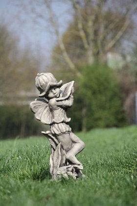 Flower Fairy Glockenblume; Vidroflor; Steinguss; Antik; Glöckchen; Gloeckchen; Blumenfee; 8026; Blumenelfe