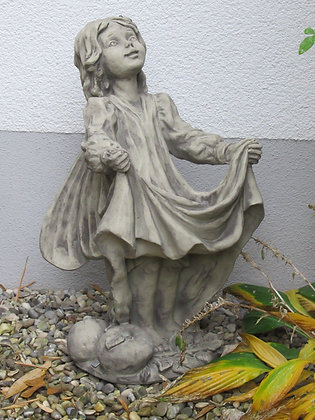 Vidroflor; Flower Fairy; Apfel; Steinguss; Obst; Obstblüte; 8018; Blumenfee; Elfe; Blumenelfe; Skulptur; Galarosa