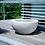 Komplett-Brunnen; Loa 57; Granite Grey; granitgrau; Esteras; Fountainslite; Zimmerbrunnen; Gartendeko; Terrassenbrunnen; LED