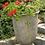 Gefäß Tumba; Steinguss; Vidroflor; 114070; grau; Antik; Rose; Pflanztopf; Pflanzgefäß; Blumentopf
