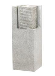 Komplett-Brunnen; Esteras; Fountainslite; granit grey; granitgrau; LED; Pumpe; Apuro; 87; 8512317387; Wasserfall; Galarosa