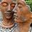 Vidroflor; Gesicht; Mann; Frau; Edition Oxid; 8081; 8082; Köpfe; Kopf