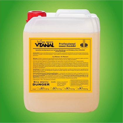 Dr. Rech's Vitanal Professional sauer/kombi; 2,5 l; 2,5 Liter; Rosen; Düngemittel; Stärkung; Kräftigung; Blattdünger