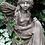 Bluebell; Fee; Vidroflor; Steinguss; Fiona Scott; Pheebert's; FS1606; träumend; ausruhend; Skulptur klein; Gartendeko