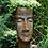 Pflanzgefäß Frau; Steinguss; Rosteffekt; 11501R; 11501; Pflanzkopf; besonderer Pflanztopf; außergewöhnlich; Blumentopf